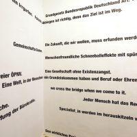 Temporäres EhrenAmt für die Erforschung sozialer Utopien, Oberwelt e.V., Stuttgart. Foto: Laurenz Theinert