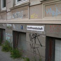 Wortfindungsamt, partizipatorisches Kunstprojekt im öffentlichen Raum, Hamburg - Ottensen im Rahmen der Kunstaltonale, 2010