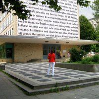Transparent Grindelhochhäuser von Sigrid Sandmann, Hamburg 2007, Kunst im öffentlichen Raum,