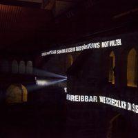 Refugium, Lichtprojektion Kreuzgang Dom, Lichtungen Hildesheim, 2015, Foto: Sara Förster6