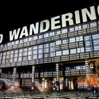 Sigrid Sandmann, Lichtkunst an der Ruhr-Universität Bochum im Rahmen der Extraschicht 2012