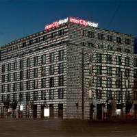 Lichtprojektion, 25 Jahre Friedliche Revolution, InterCity Hotel Leipzig, 2014  Foto: Sigrid Sandmann