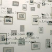 Rauminstallation Künstlerhaus Bergedorf, Déja vu, Sonia Renard, Claire Gauthier